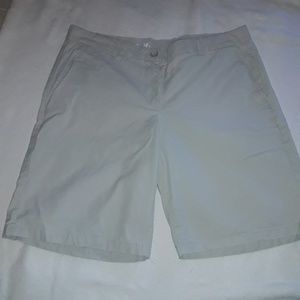 Gap Khakis Boyfriend Roll Up Shorts Size 14T Tan